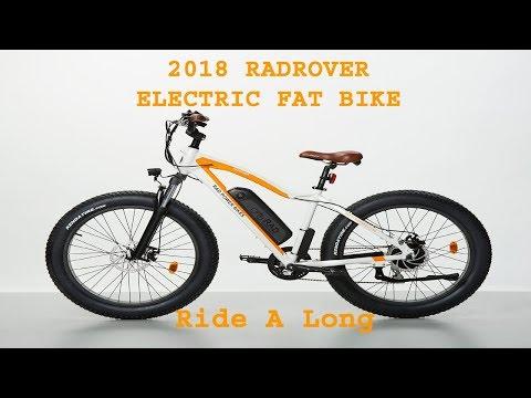 2018 RADROVER ELECTRIC FAT RAD POWER BIKE 17 Ride A Long