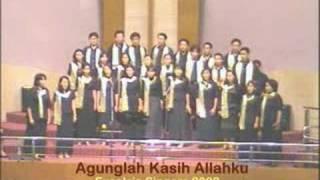 Agunglah Kasih Allah ku ( Choir)