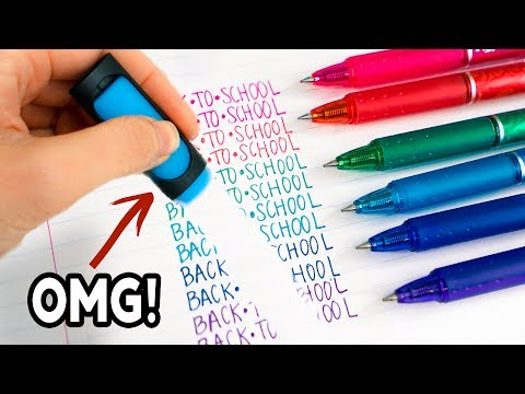 Weird Back To School Supplies You Need To Try 2017! Natalies Outlet
