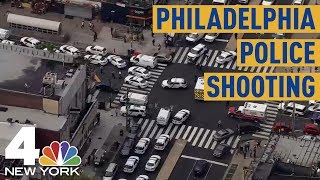At Least 6 Philadelphia Police Officers Shot, 1 Hurt During 'Active Firefight' | NBC New York