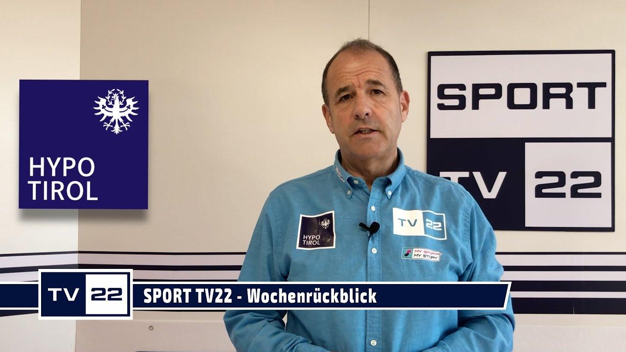 SPORT TV22: Wochenrückblick aus dem Studio KW 11