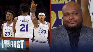 Antoine Walker thinks the new-look 76ers are the team to beat in the East | NBA | FIRST THINGS FIRST