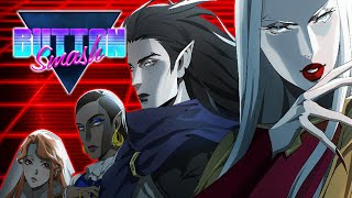Castlevania Netflix Season 3 (Carmilla & New Characters) - Button Smash