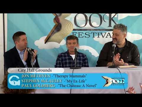 2018 Gaithersburg Book Festival: Paul Goldberg, Jon Methven, Stephen McCauley