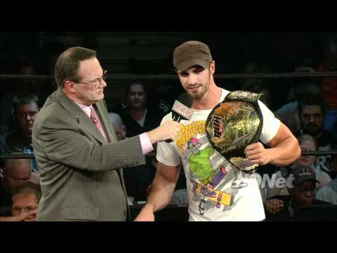 Tyler Black on WWE, ROH, and the future of the World Title - ROH on HDNet 8/30/10