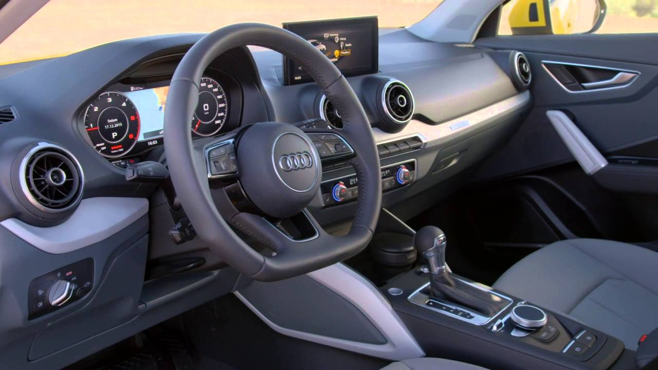 All New 2016 Audi Q2 Interior Youtube