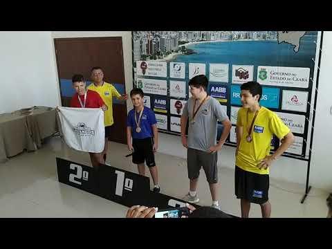 3º Etapa Campeonato Cearense de Tênis de Mesa - Mirim Masculino - Premiação