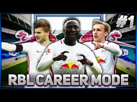 FIFA 17 RB LEIPZIG CAREER MODE! #1 | INTRODUCTION!