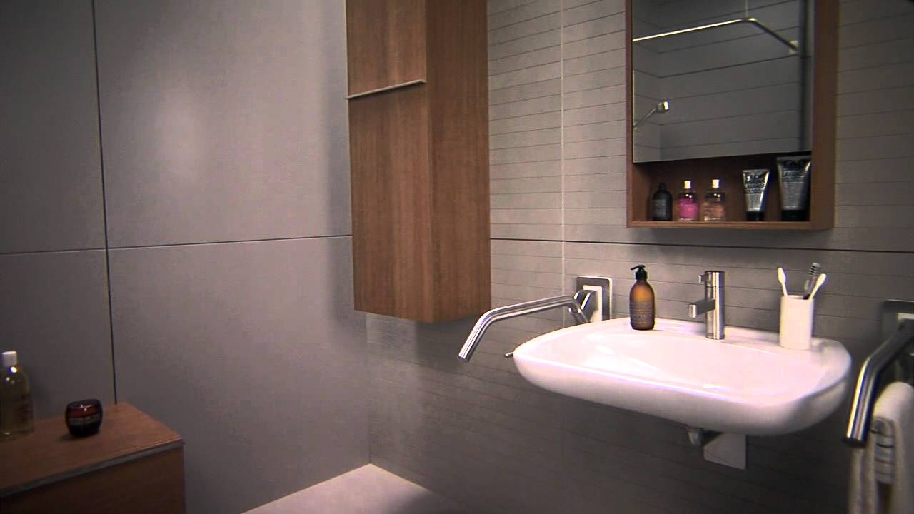 Bathroom for disabled people - YouTube