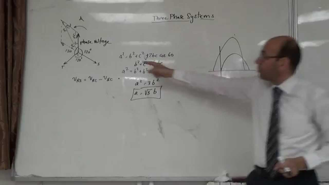 6 P  Three Phase Phasor Diagrams And Relationships  2  10
