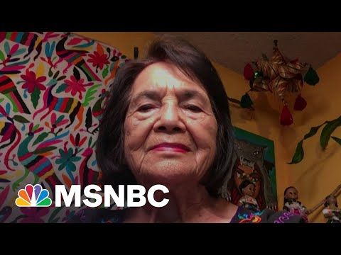 Dolores Huerta: 'We Need To Make Sure Our Farmworkers Are Protected' | The Last Word | MSNBC