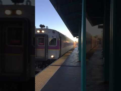 MBTA express train Lynn station!!