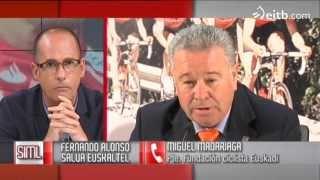 Madariaga opina sobre Fernando Alonso y Euskaltel Euskadi