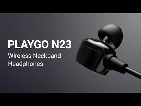 playgo-n23-in-ear-bluetooth-wireless-neckband-headphones-official-product-video