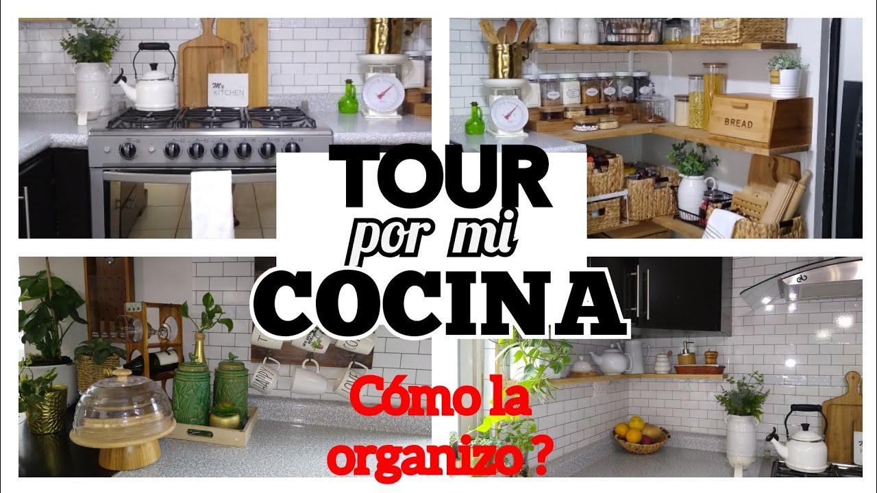 TOUR por mi cocina/ Cómo la organizo?