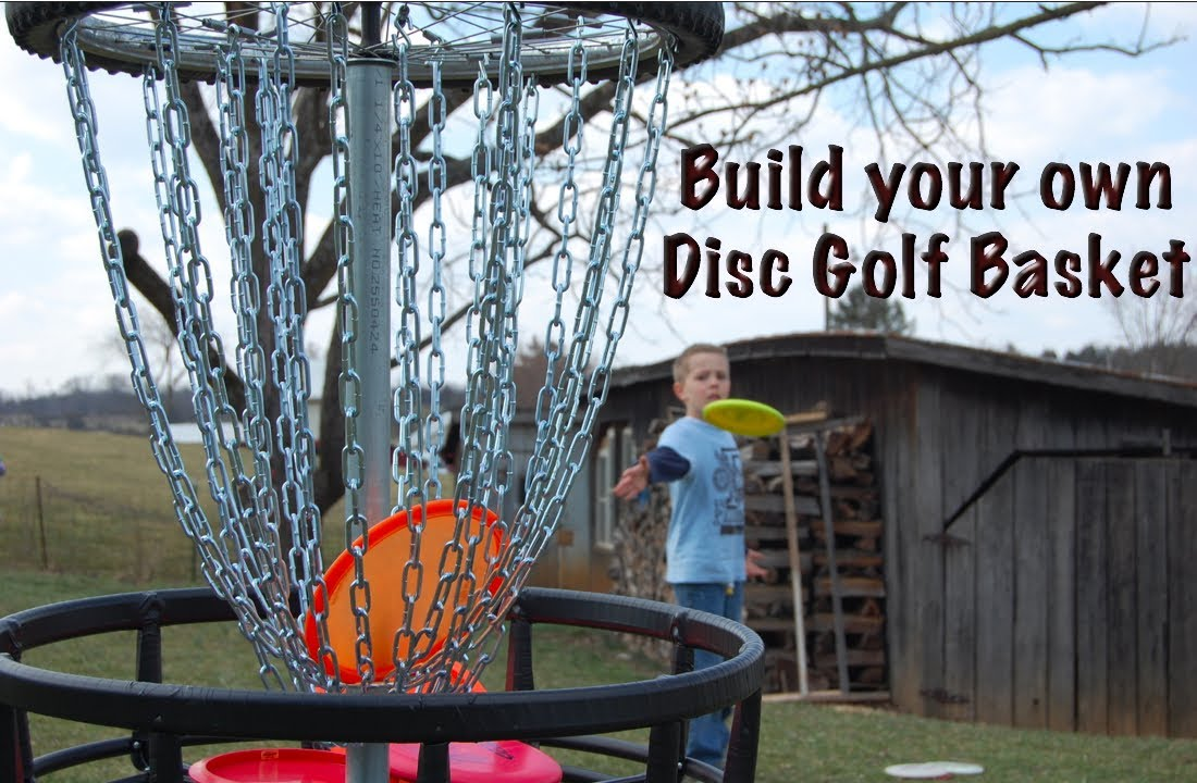 Build Your Own Disc Golf Basket