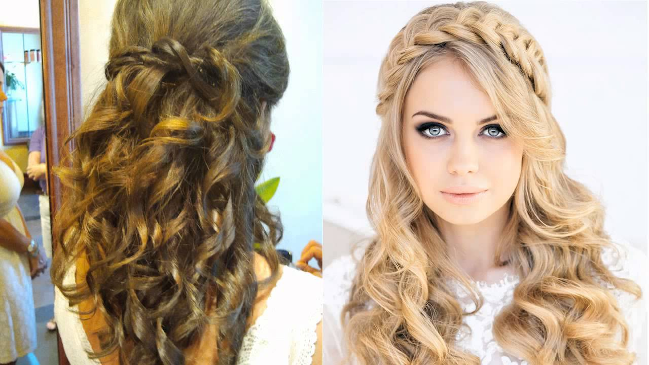 Wedding Guest Hair Half Up Half Down For Long Hair Hairdresser ...