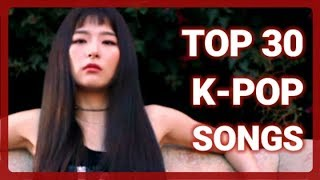 K-VILLE STAFF CHART - TOP 30 K-POP SONGS OF NOVEMBER 2017 (WEEK 3)