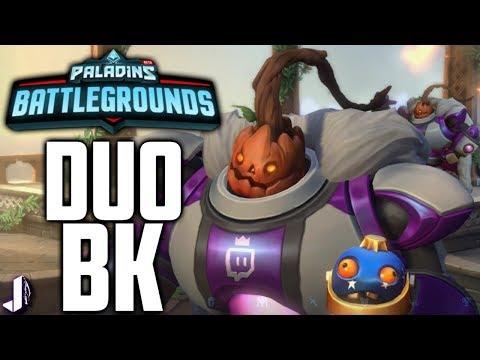 Duo Bomb King WIN! Explosive Combo - Paladins Battlegrounds Gameplay