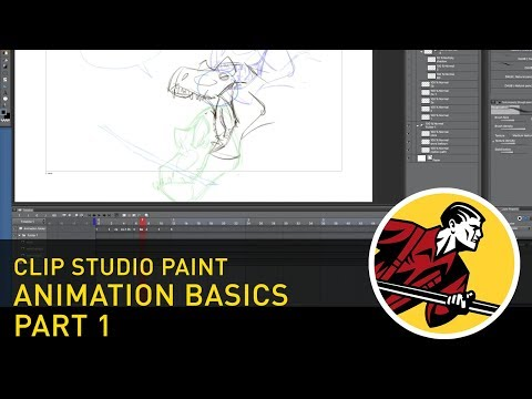 Clip Studio Paint: Animation Basics - Part 1