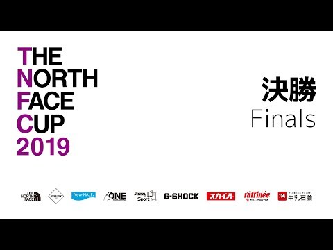 THE NORTH FACE CUP 2019 DAY2 決勝