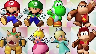 Mini Mario Friends amiibo Challenge All Characters