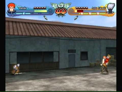 Naruto Shippuden Clash Of Ninja Revolution 3-Bando Vs Anbu ...
