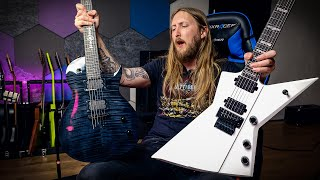 Solar Guitars Priestess & Killertone - Marzi Montazeri & Jason Frankhouser signature guitars