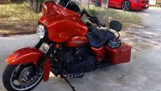 Harley street glide with jl 8.8 speakers