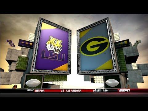 NCAA Football 14 Dynasty- Week 3 vs. LSU 🏈Season 2