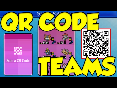 QR RENTAL TEAMS ARE NOW LIVE! Pokemon Sun And Moon QR Team Guide!