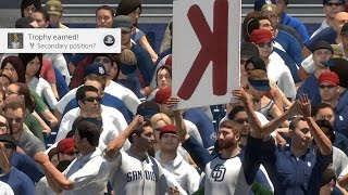 MLB The Show 17 - Secondary Position Trophy Guide and Tips