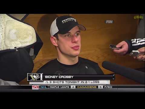 Post Game Interviews: Crosby & Staal (10-31-2009)