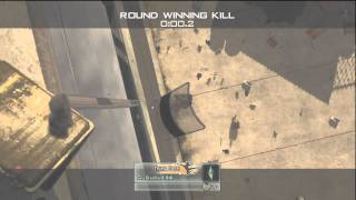 MW2: Double kill with one Throwing Knife!