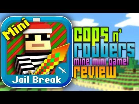 COPS AND ROBBERS Mine Mini Game - Minecraft Clone