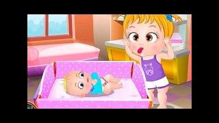 Baby Hazel Sibling Trouble - Nanny Babysitting Baby Game Episode - Dora the Explorer