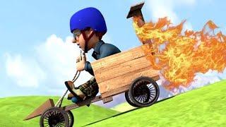 Sam le Pompier Francais ⭐️ Le kart fou 🔥 Épisode complet 🔥 Dessin Animé