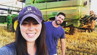 Our Wheat Harvest 2019 And Look Who S Back Kip Siegler Farming 14k Views