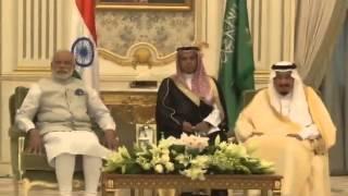 PM Modi conferred Saudi Arabia's highest civilian honour | PMO