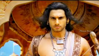 Karnan mass Intro😎🤏🔥in Mahabharatham Why was karnan rejected in First Game Heaven Beats HB ❤️