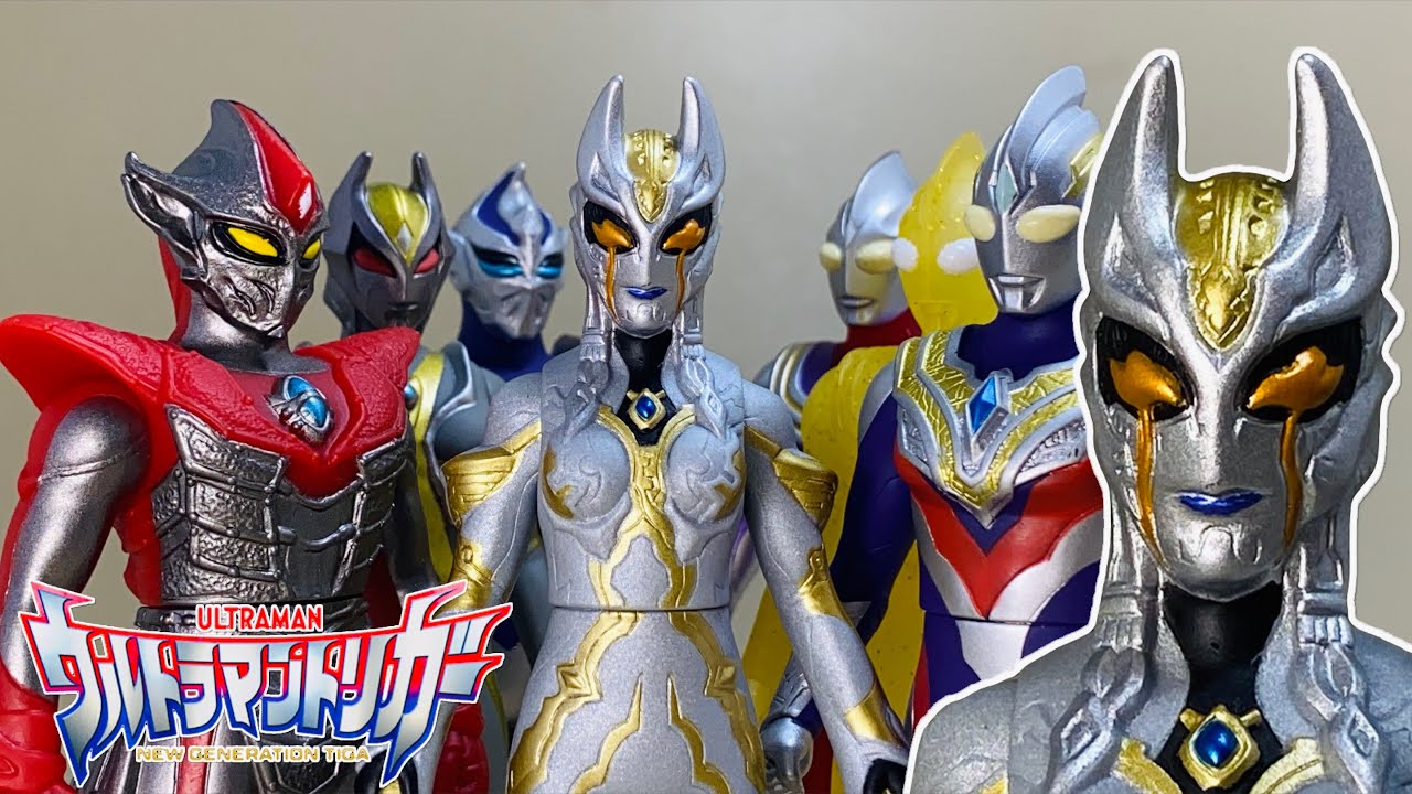 ウルトラマントリガー 闇の3巨人の復活!カミーラとカルミラは同一人物?Ultraman TRIGGER