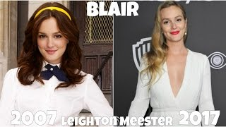 Gossip Girl Then And Now