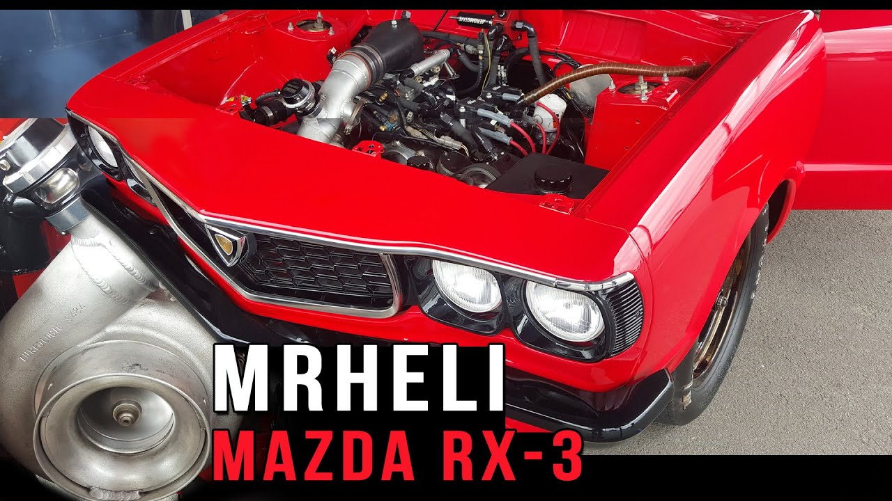 Mazda RX-3 13B turbo MRHELI - fullBOOST