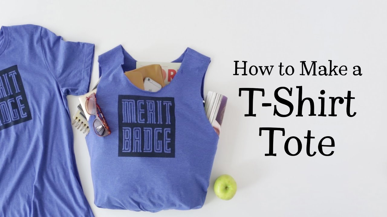 DIY T Shirt Tote Bag—Hallmark Ideas