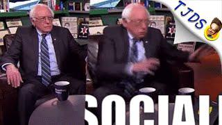 Bernie Sanders Scares With Socialism In Surprising GIF