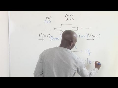 how to get time to find out acceleration