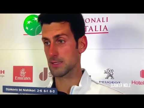 "Novak Djokovic ""My best tennis vs Rafael Nadal"" - Rome 2018 (HD)"