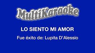 Lo Siento Mi Amor - Multikaraoke