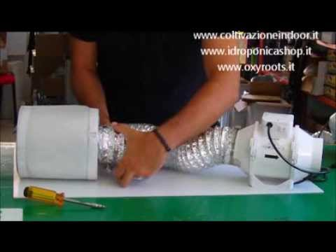 Coltivazione Indoor Kit Aspiratore Aria Con Filtro Ai Carboni Attivi Per Grow Box