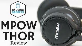 Mpow Thor Bluetooth Headphones Review – Foldable Over Ear Headset